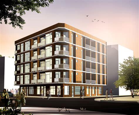 storey residential building floor plan zion modern house