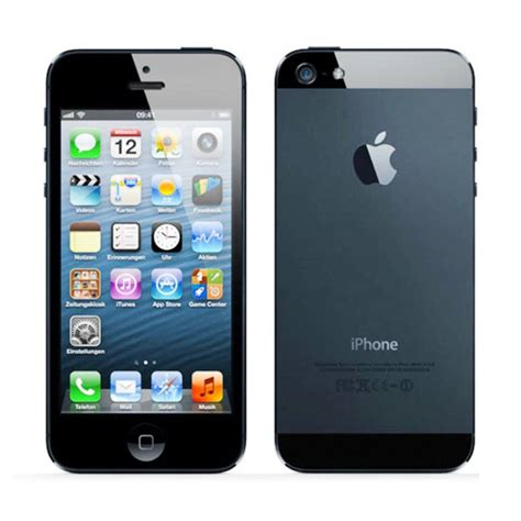Apple Iphone 5 16gb 10 Most Popular Smartphones In South Africa Youth