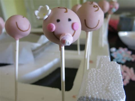 Decorating Cake Pops by Baby Babyface Cake Pops For And Heidi