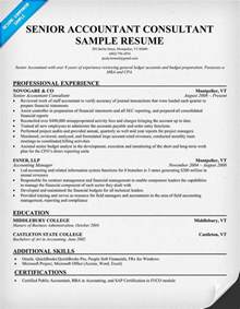 Senior Accountant Resume Example Pics Photos Accountant Resume Eamples Page Sample Samples