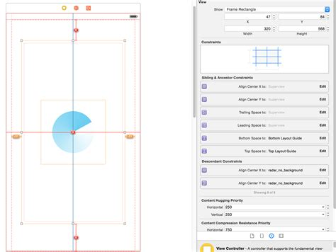 auto layout minimum height objective c ios iphone 6 autolayout full width and