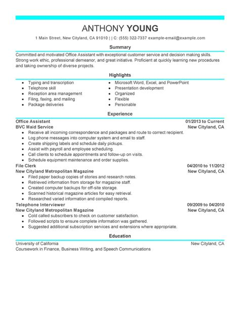 resume styles and exles 2013 free resume exles by industry title livecareer