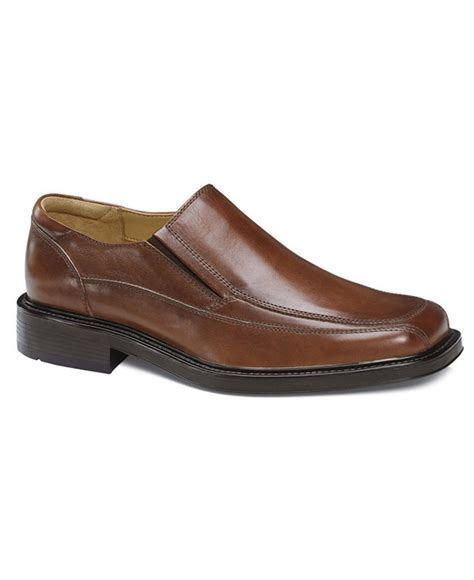 dockers shoes dockers bike toe loafers in brown for lyst