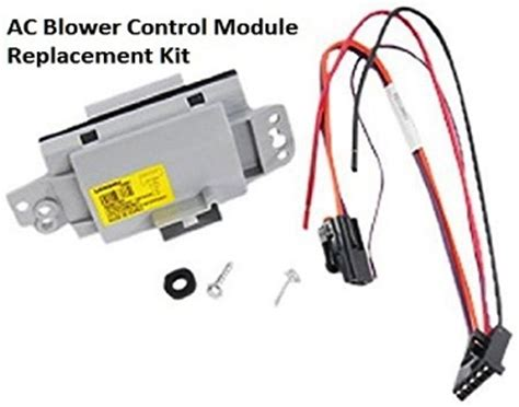 resistor module function heating and air conditioning panel