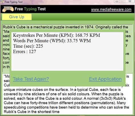 Resume Type Words Per Minute by 19 Best Free Typing Speed Test Software For Windows