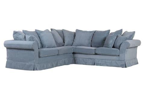 canap 233 d angle fly bleu sb meubles discount