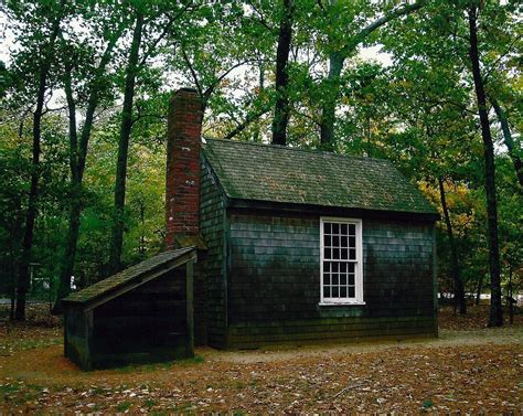 Walden Pond Thoreau Cabin by Henry Thoreau Walden Quotes Quotesgram