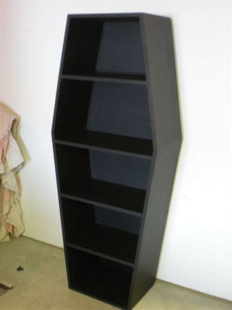 Coffin Bookcase 17 best images about coffin shelf on cd holder displays and shelves