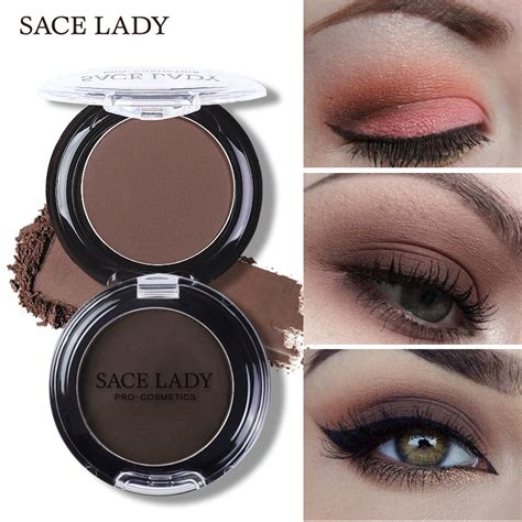 Eye Shadow 2 Berkualitas 1 sace matte eye shadow waterproof palette 18