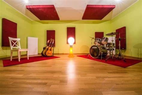 pannelli fonoassorbenti per pareti interne trattamento acustico per studio di registrazione e sala