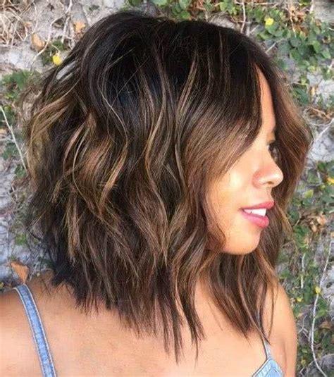 cortes para cabello ondulado y cara ovalada cortes pelo largo ondulado cara redonda peinados