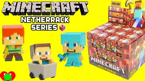 Pajangan Figure Minecraft Mini Figur Minifigures Seri 3 minecraft netherrack series 3 mini figures in blind boxes