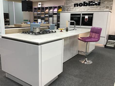 rrp 163 12 800 nobilia ex display kitchen with island neff