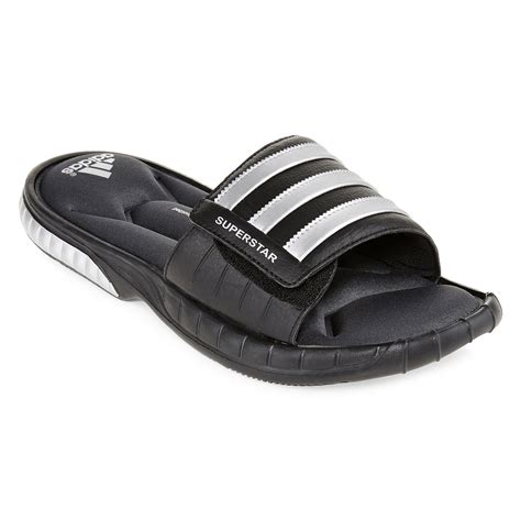 jcpenney mens sandals upc 886037162399 adidas superstar 3g mens slide sandals