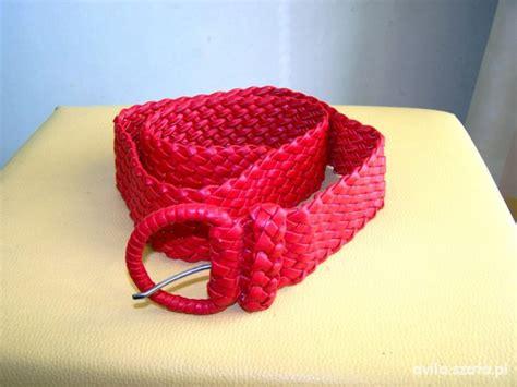 Ceny Tunik By Hijabkita 1 pasek pleciony czerwony do tunik i koszul w paski szafa pl