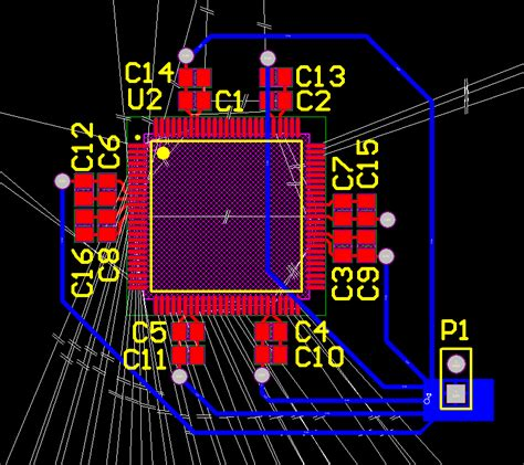 decoupling capacitor bottom layer pcb decoupling capacitors on the bottom layer electrical engineering stack exchange