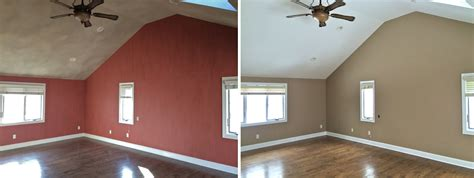 interior house paint before after interior painting ridge painting company