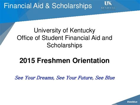Uw Financial Aid Office quot see blue quot u 2015 financial aid