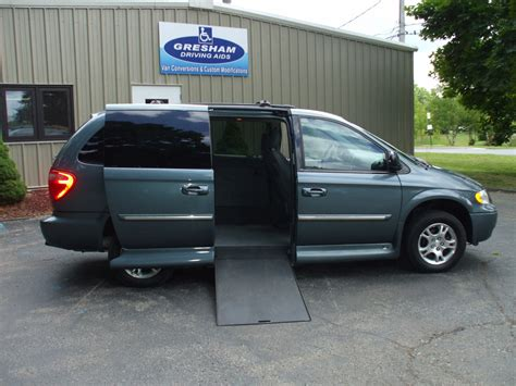 Chrysler Town And Country Rebates by 2005 Chrysler Town And Country Stock W3258 Wheelchair