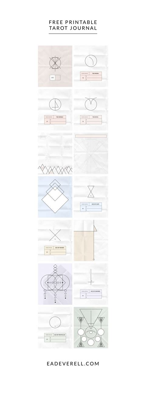 tarot journal template tarot journal template image collections free templates