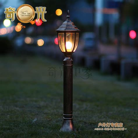 Where To Buy Patio Lights Aliexpress Buy Black Bronze 80cm Led Lawn L Garden Lights Road L Garden Lights