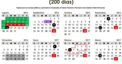 calendario de pagos sep magisterio informado zacatecas calendario escolar 2016 2017 preg 250 ntale al profesor
