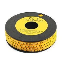 Cable Marker Kss Ec 1 Q Cable Markers S Electronic