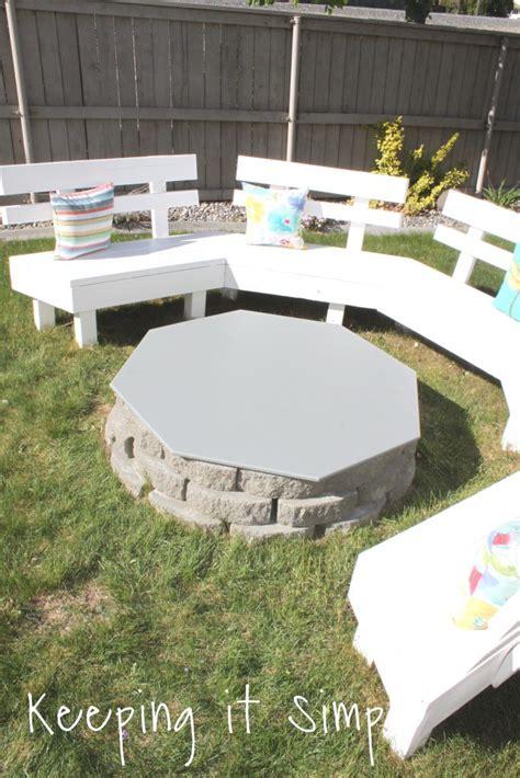 backyard ideas diy pit cover keeping it simple