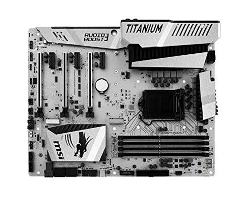 Msi Z170a Mpower Gaming Titanium Edition Lga1151 Z170a Ddr4 msi z170a mpower gaming titanium atx lga1151 motherboard z170a mpower gaming titanium