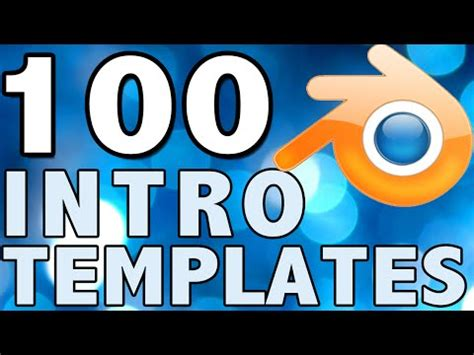 top 60 intro templates for blender top 100 blender intro template officialfunnycream