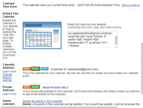 Calendar Update Ical Version Of Ical