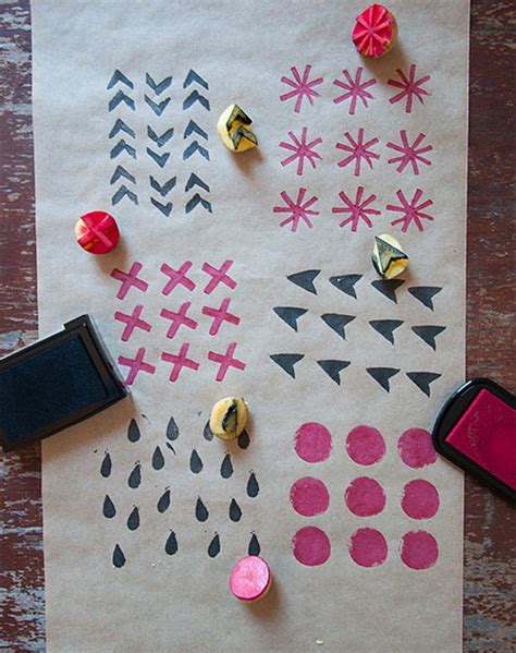 Handmade Wrapping Paper Ideas - diy wrapping paper for purewow