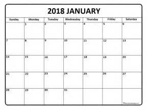 Calendar 2018 January Uk January 2018 Calendar Printable Template Holidays Pdf Usa Uk