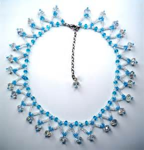 Free pattern for simple but pretty beaded necklace be free beads