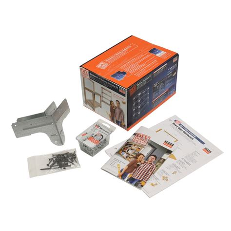 bench kits home depot simpson strong tie wbsk workbench or shelving hardware kit