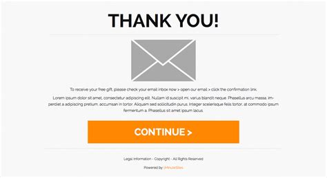 Thank You Page Template thank you page html seotoolnet