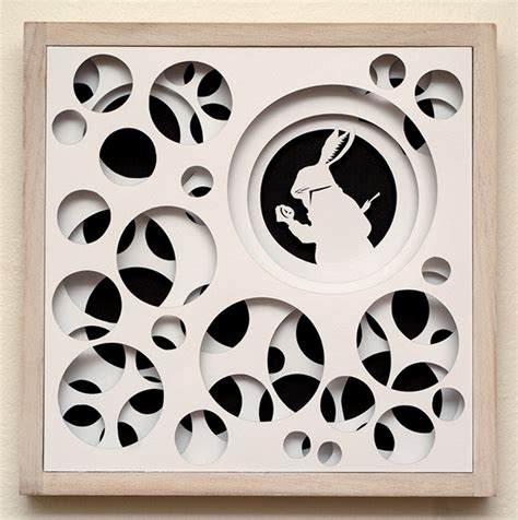 Paper Cutting Craft Work - paper cut work inspired by in on behance
