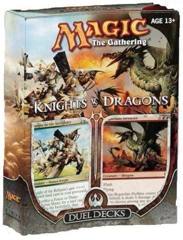 Knights Vs. Dragons Duel Decks MTG Magic the Gathering   eBay