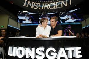 Insurgent movie news shailene woodley and theo james talk about