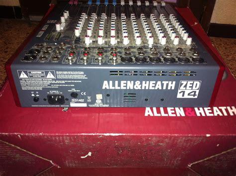 Mixer Allen Heath Zed 14 allen heath zed 14 image 819669 audiofanzine