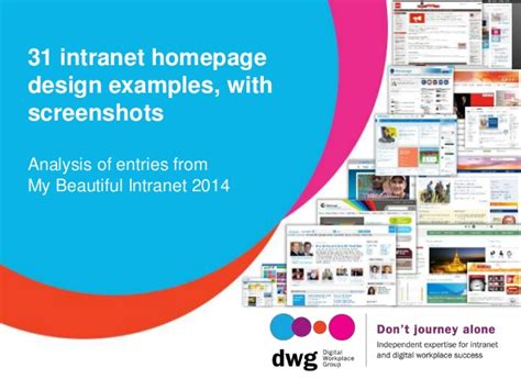 homepage design tips 31 intranet homepage design exles with screenshots