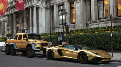 Gold Plated Cars For Sale by Cars For The Gold Obsessed From India The World