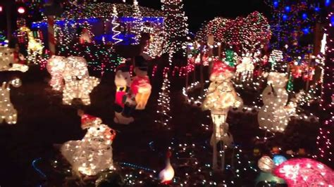 phifer house christmas lights display richmond va youtube