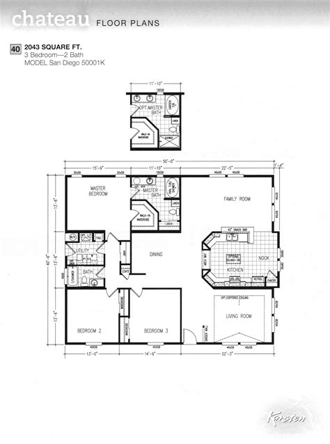 avalon floor plan avalon series floorplans wide homes karsten el