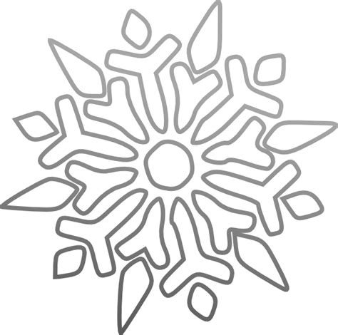 flake winter coloring pages coloring pages for kids