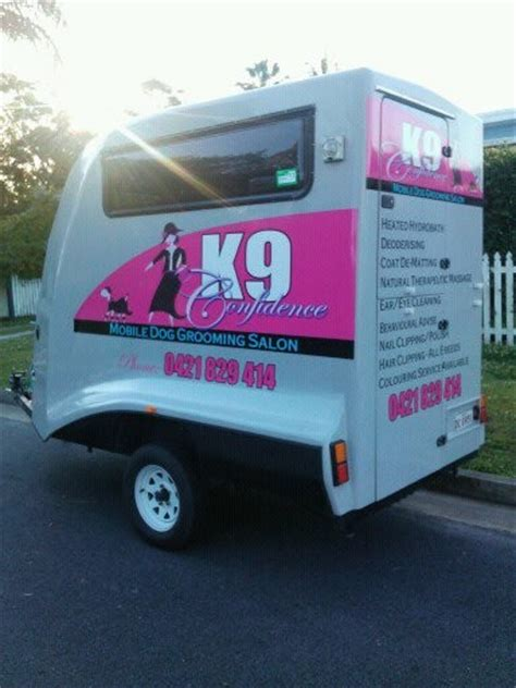 local mobile groomers k9 confidence mobile grooming salon in palm qld pet groomers truelocal