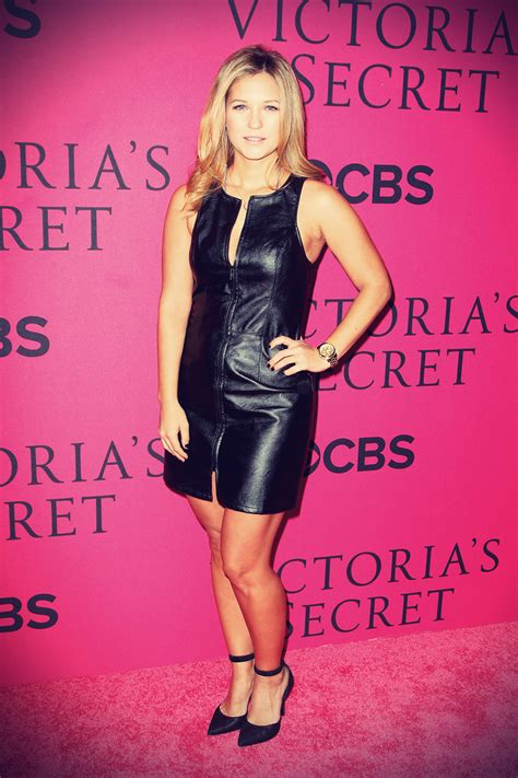 Vanessa Ray leather