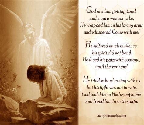 he hid a message for his sweetheart in the family god saw him getting tired and a cure was not to be