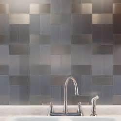 pics photos brushed metal tile backsplashes bronze backsplash with decorative