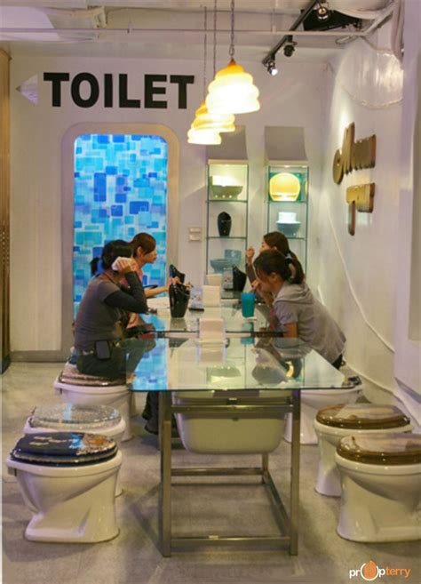 bathroom themed restaurant 135 best images about toilet theme restaurant on pinterest